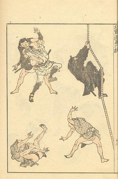 Dosya:Hokusai sketches - hokusai manga vol6.jpg