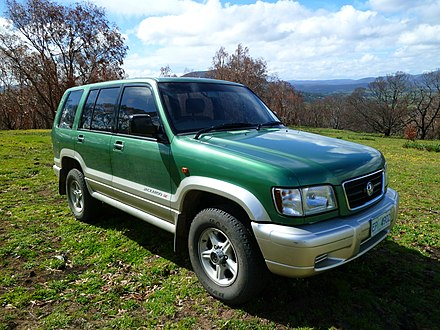 Isuzu Trooper Wikiwand