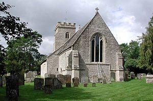 Shilton, Oxfordshire - Holy Rood parish church