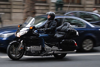 Types of motorcycles - Honda Gold Wing GL1800 touring motorcycle