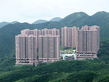 High Rise Residential Apartment Buildings Hong Kong