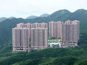 High-rise building - High-rise residential apartment buildings, Hong Kong