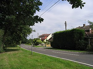 Hook End, Essex - Image: Hook End Lane, Hook End, Essex geograph.org.uk 37937
