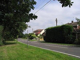 Hook End, Essex - Image: Hook End Lane, Hook End, Essex geograph.org.uk 37937