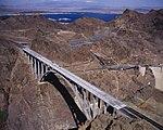 Hoover Dam Bypass Bridge, Lake Mead 2010-10-12.jpg