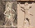 Hoplite and Hidus Achaemenid warrior.jpg
