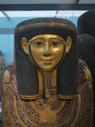 A History of the World in 100 Objects - Image: Hornedjitef mummy british museum