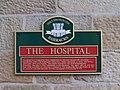 Hospital Sign, Hillsborough Barracks, Sheffield - geograph.org.uk - 1103476.jpg