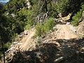 Hot, dusty switchbacks with full southern exposure to sun on the north slope above Hetch Hetchy. - panoramio.jpg