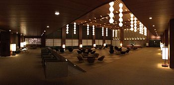 Lobby Of The Hotel Okura Before Its Demolition August 2017