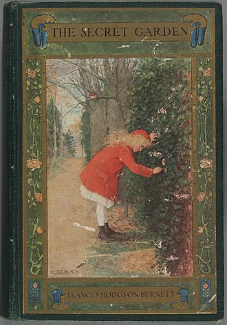 The Secret Garden - Front cover of the US edition