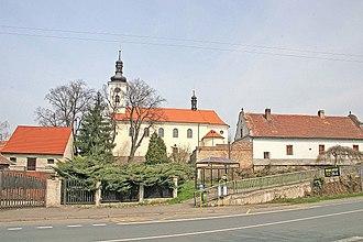 Hrochův Týnec - Church of Saint Martin