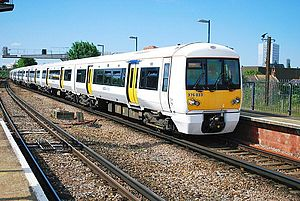 British Rail Class 376 - Southeastern Trains Class 376 No. 376033 at New Cross