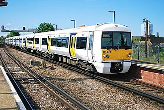British Rail Class 376 - Southeastern Trains Class 376 No. 376033 at New Cross