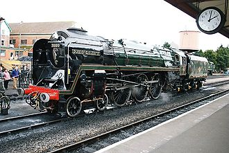 BR Standard Class 8 - Image: Hugh llewelyn 71000 (6812160047)