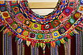 Huipil, Kaqchikel Maya, Patzun, view 2, late 20th to early 21st century, cotton and synthetic - Textile Museum of Canada - DSC01431.JPG