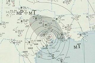 1941 Texas hurricane Category 1 Atlantic hurricane in 1941