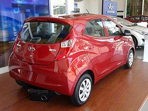 Hyundai Eon - Image: Hyundai Eon Rear