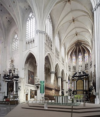 St. Rumbold's Cathedral - Interior of the nave