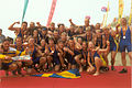 IDBF World Dragon Boat Championships 1995 in Yueyang, Swedish Team.jpg
