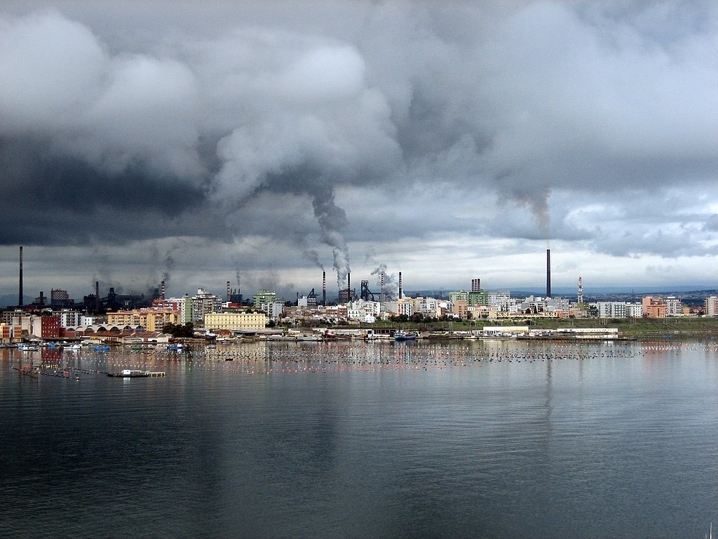 Photo of Ilva Taranto Steel Plant