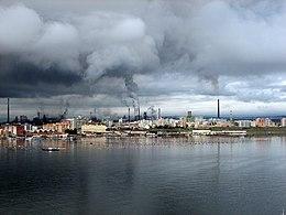 Gli stabilimenti ILVA di Taranto (2007)