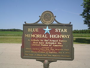 Illinois Route 2 - Sign located in Ogle County, Illinois
