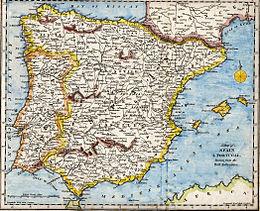 Cartina Geografica Spagna Costa Brava.Penisola Iberica Wikipedia