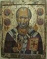 Icone, san nicola tra santi selezionati, prima metà del XIII sec o 1250 ca, dal mon dello spirito santo, novgorod.JPG
