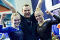 Ida Gustafsson och Jonna Adlerteg EM 2013.jpg