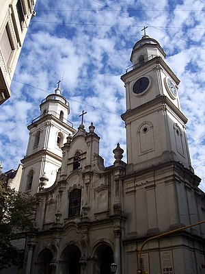 Parish of San Ignacio de Loyola (1722). Buenos...