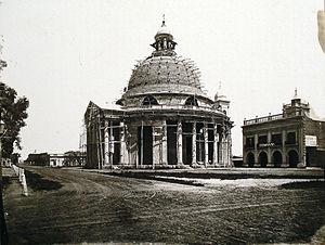 Inmaculada Concepción parish - The parish in 1875.