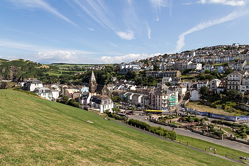 Ilfracombe (Devon, UK), Capstone Hill -- 2013 -- 1801