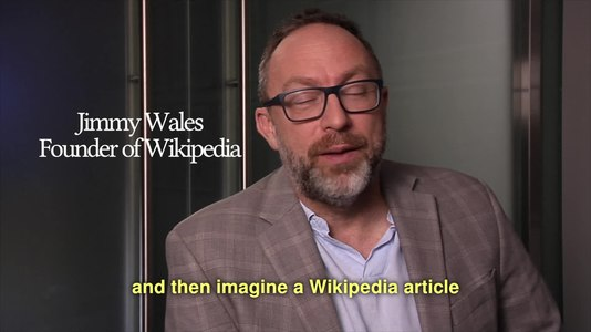 File:Imagine a world without Wikipedia and then imagine a Wikipedia article to describe that world.webm