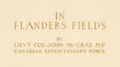 In Flanders Fields (1921) title page.png