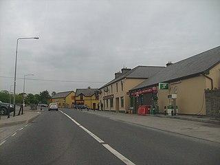 Inagh Village in Munster, Ireland