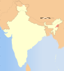 India Nagaland locator map.svg