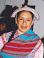 Indian woman with black braids Peru.jpg