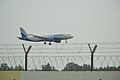 Indigo Flight Touching Down - NSCBI Airport - Kolkata 2017-05-08 7134.JPG
