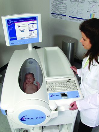 Air displacement plethysmography - Body composition measurement in infants with whole-body air displacement plethysmography (ADP) technology