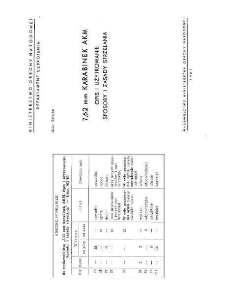 File:Instrukcja 762 mm Karabinek AKM Sposoby i zasady strzelania.djvu