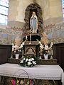 Intérieur de l'église de Saint-Crépin-Ibouvillers autel de la vierge 1.JPG