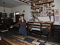 Interior of the printer's works, Ulster American Folk-park - geograph.org.uk - 543692.jpg