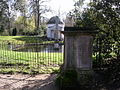 Ionic temple, obelisk and canine memorial, Chiswick House - geograph.org.uk - 369708.jpg