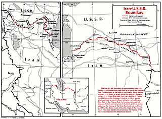 Iran–Turkmenistan border Separates the territories of Iran and Turkmenistan