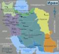 Iran region map ru.png