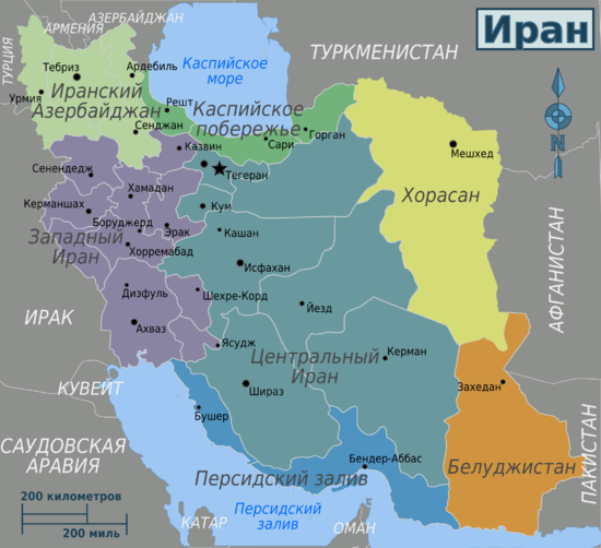 Iran region map ru.png