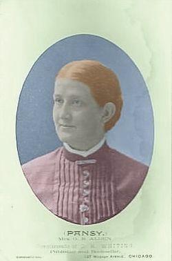 Isabella Macdonald Alden, aka Pansy, aka Mrs. G. R. Alden, c. 1886.jpg
