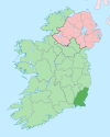 Island of Ireland location map Wexford.svg