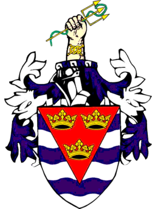 Isle of Ely - Coat of Arms of Ely County Council